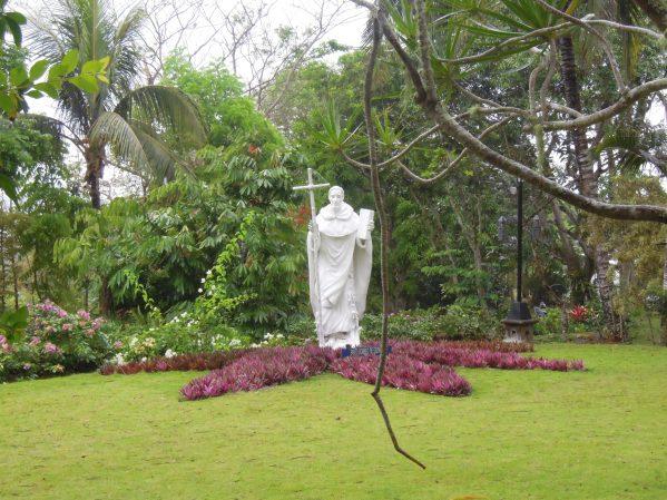 Sto. Domingo de Guzman statue