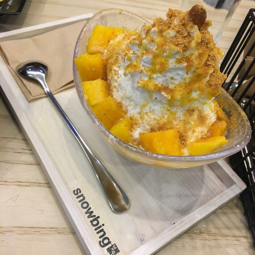 Bingsu on a Sunday