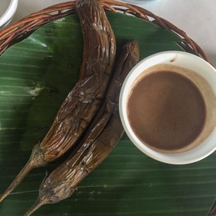 Talong with Bagoong Isda (P65)