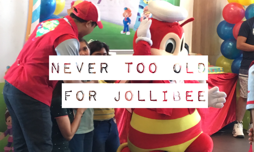 68/365 never too old for Jollibee